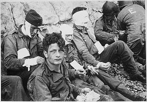 injured soldiers 1914