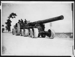 ypres field guns 1914