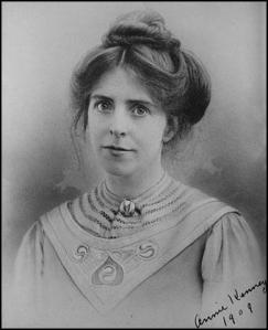 Annie Kenney 13 Sept 1879 - 9 July 1953