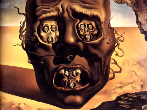 salvador dali the face of war